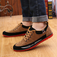 Mens Suede Top Sneakers