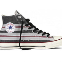 Converse Chuck Taylor All Star Striped Hi Top-Men's-Footwear-modells - Categories- Modells.com