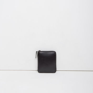Very Black Zip Wallet by Comme des Gar amp;amp;#231;ons