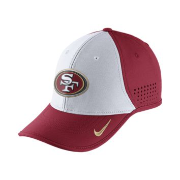 Nike True Vapor (NFL 49ers) Adjustable Hat (Red)