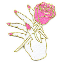 Nail Salon Rose Patch - Pink