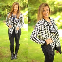 The Fox & The Houndstooth Cardigan