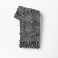 Boucle Grid Throws