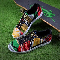 Sale The Notorious B.I.G COOGI x Puma Suede Classic Color Fabric Low Shoes