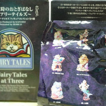 Kaiyodo Alice In Wonderland Fairy Tales At Three 9 Trading Collection Figure Set
