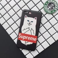 Supreme inspired x ripndip inspired iphone case 6(S) / 6 Plus / 7 / 7 plus