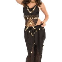 Black Belly Dancer Costume
