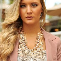 Girls Best Friend Necklace: Gold/Multi