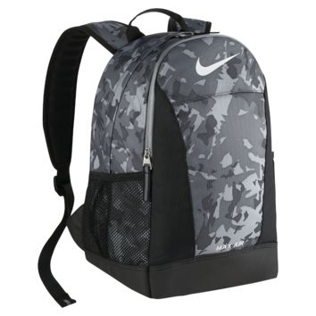 Nike Max Air Team Kids' Backpack (Grey)