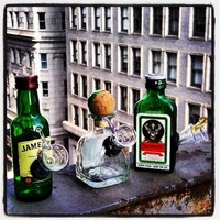 Stocking Stuffers! Mini Jameson, Patron and Jager Novelty Pieces!