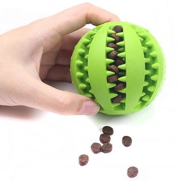 Pet Extra-Tough Rubber Ball Chew Toy
