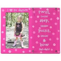 Malden 4x6 I Love to Dance Dimensions Frame