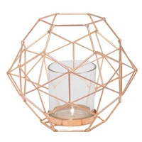"6""x7.5"" Metal Candle Holder - Copper"