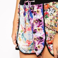 The Ragged Priest | The Ragged Priest Eden Floral Jog Shorts at ASOS