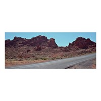 Valley of Fire Highway Poster