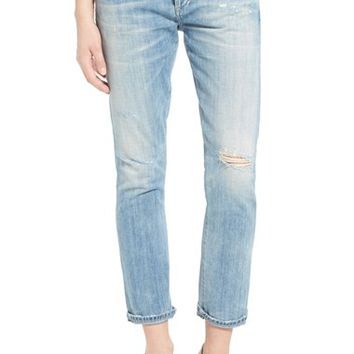 Citizens of Humanity 'Emerson' High Rise Slim Boyfriend Jeans (Distressed Sebring) | Nordstrom