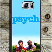 Blue Psych Cover Samsung Galaxy S6 Edge Plus Case