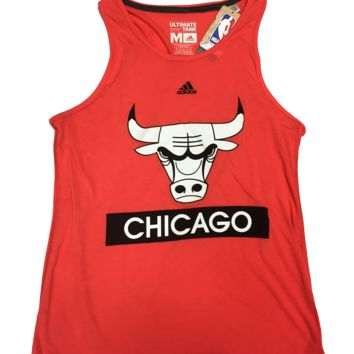 Chicago Bulls Loud And Proud Tank Top By Adidas