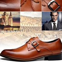 Men's Formal Business Leather Oxford Dress Shoes