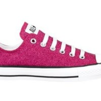 Converse All Star Lo Sparkle Athletic Shoe, Pink, at Journeys Shoes