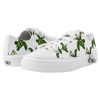"""""""Little Dave"""" Turtle, Fish with Attitude Printed Shoes"""