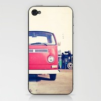 Vintage Volkswagen Bus iPhone & iPod Skin by Laura Ruth  | Society6