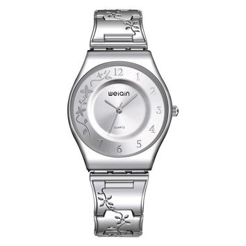 Silver Women Dress Watches