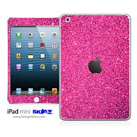 Pink Ultra Metallic Glitter iPad Skin