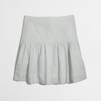 Factory seersucker eyelet skirt : Mini & A-Line | J.Crew Factory
