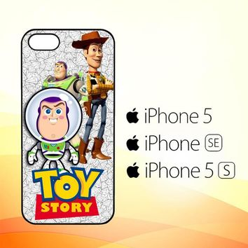 Buzz Toy Story Tron W3634  iPhone 5|5S|SE Case