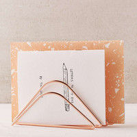 Rose Gold Letter Holder - Urban Outfitters