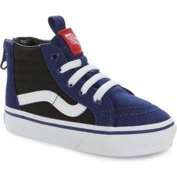 Vans SK8-Hi Zip Sneaker (Baby, Walker, Toddler, Little Kid & Big Kid) | Nordstrom