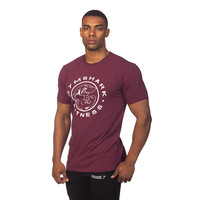 GymShark Fitness T-Shirt - Tyrian Purple T-shirts | GymShark International | Innovation In Fitness Wear