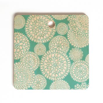 Heather Dutton Delightful Doilies Tiffany Cutting Board Square