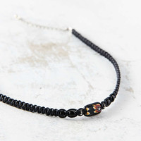 Fimo Bead Hemp Choker Necklace - Urban Outfitters