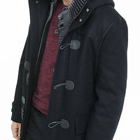 Black Toggle Coat from EXPRESS