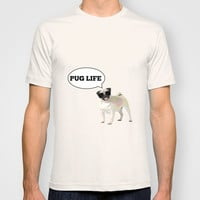 Pug T-shirt by Laura Maria Designs