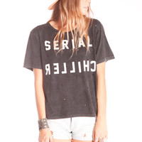 Serial Chiller Tee | New Arrivals | Vanguard Fashion