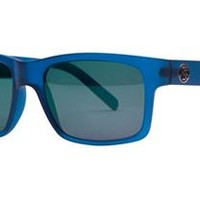 Filtrate John Brown Sunglasses - Blue Frost / Green Mirror Polarized - Free USA Shipping