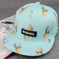 Pineapple Pattern Summer Fashion Style Lovely Women Gift - Hat = 4697434308