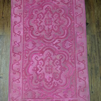 Shop Overdyed Pink Rugs on Wanelo