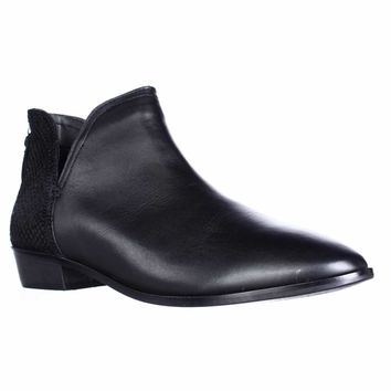 Kenneth Cole REACTION Loop There It IS Cutout Ankle Booties, Black, 9 US / 40 EU
