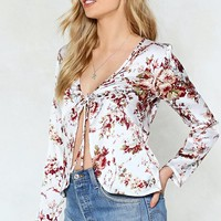 We're Here For You Floral Top