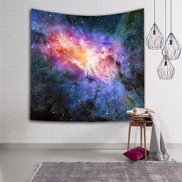 LFH Galaxy Tapestry Stars in the Universe Decorative Wall Tapestry 3D Printed Room Dorm Tapestry Pattern Wall Hanging Tapestry