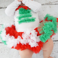 Girls Christmas Dress- Baby Christmas Dress- - Christmas Pettiskirt Dress- Christmas Girls Dress- dress - Holiday Outfits - Christmas Outfit