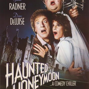 Haunted Honeymoon 11x17 Movie Poster (1986)