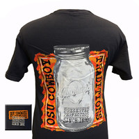 Oklahoma State Cowboys OSU Preserved Perfection Comfort Colors Mason Jar Girlie Bright T Shirt