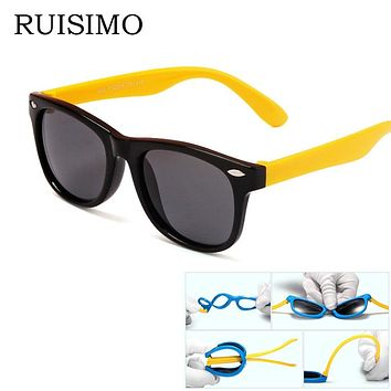 Rubber Frame Kids Retro Eyewear