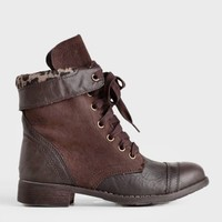 Forge On Lace-Up Boots