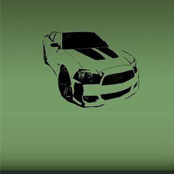 Dodge Charger Srt8 Super Bee American Muscle Wall Art Sticker Decal A717